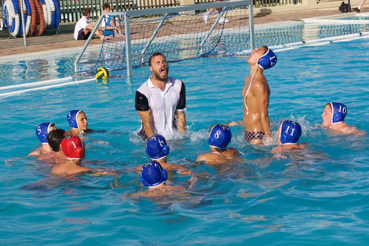 water polo school porn